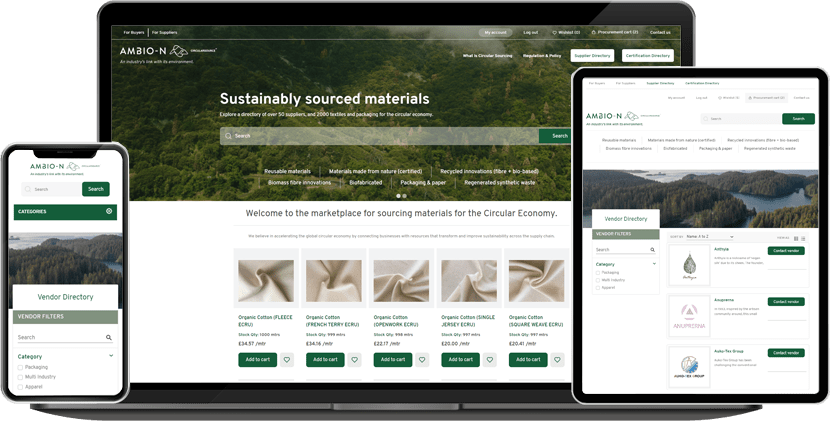 Ambio-N is a newly launched modern B2B Marketplace